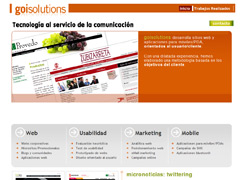 diseño web Goisolutions